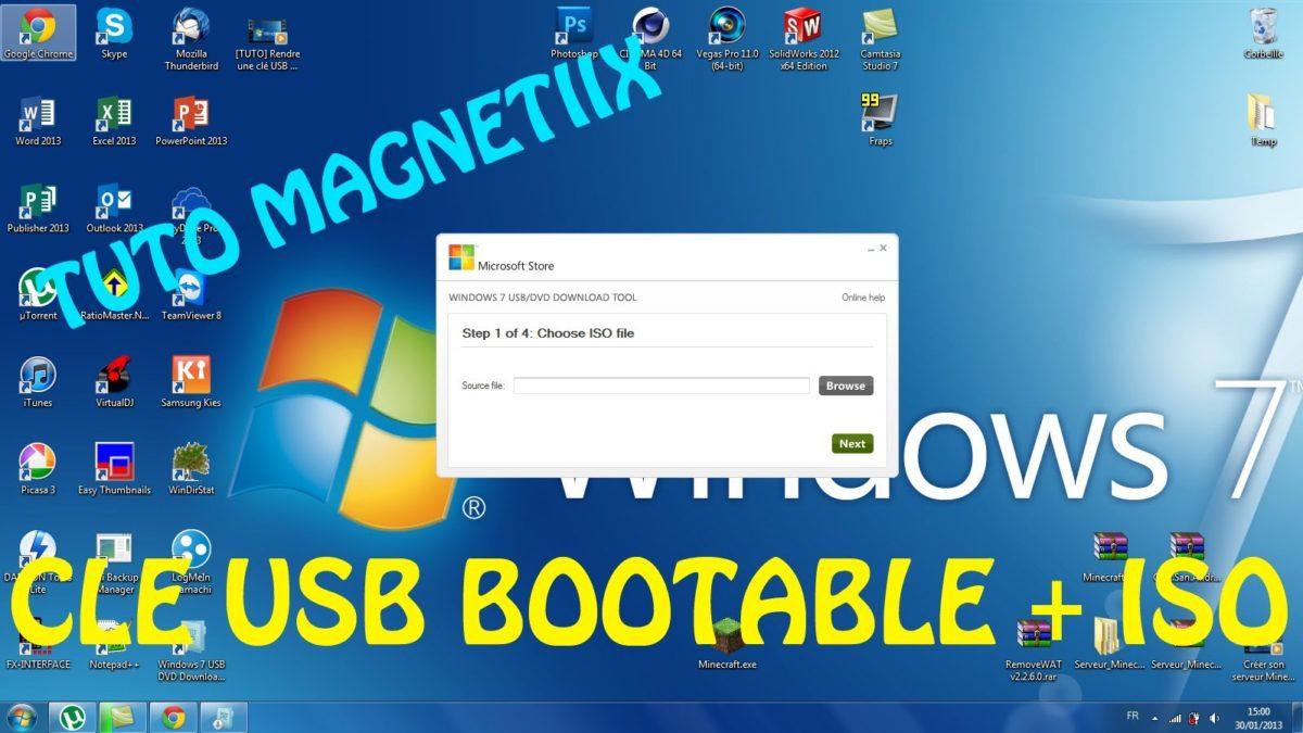 comment faire un lecteur USB bootable pour installer Linux