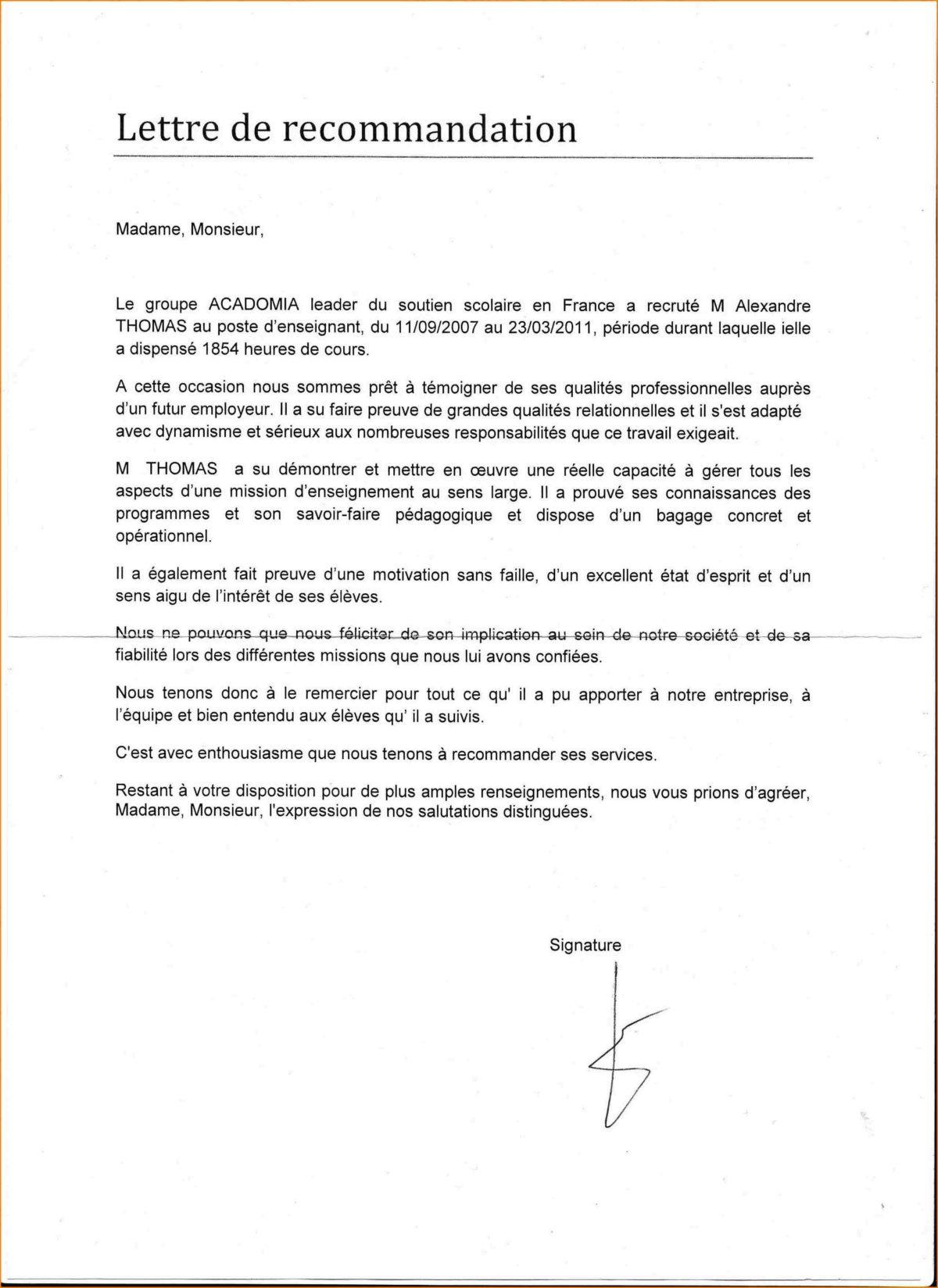 Lettre de rfrence boatremyeaton lettre de rfrence altavistaventures Image collections